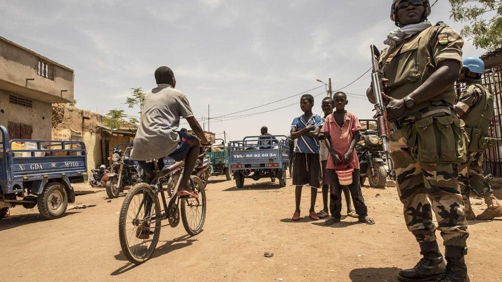 Un efectivo de la MINUSMA en Malí