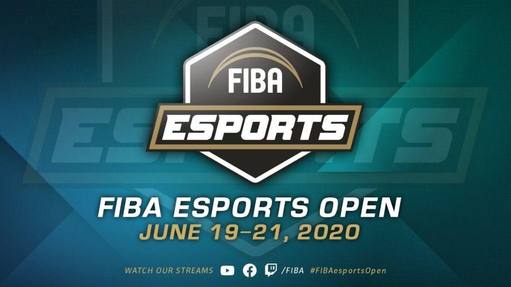 Logo del FIBA Esports Open 2020