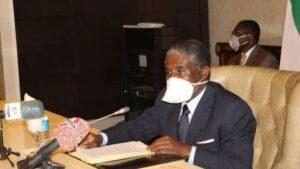 Teodoro Nguema Obiang, vicepresidente de Guinea Ecuatorial e hijo del mandatario del país, Teodoro Obiang Nguema