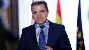 El delegado del Gobierno en Madrid, José Manuel Franco