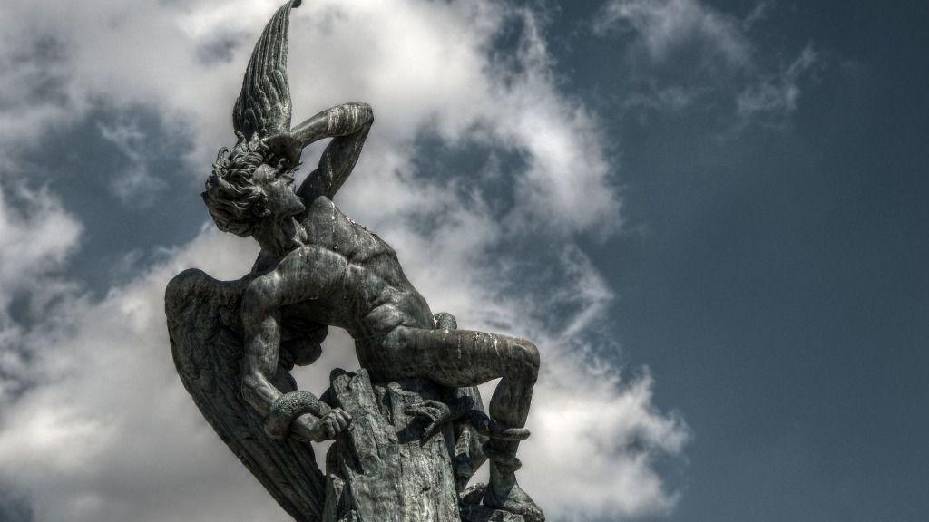 Fuente del Ángel Caído