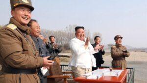 El líder de Corea del Norte, Kim Yong Un