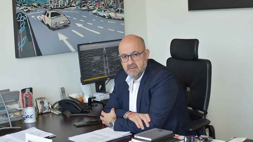 El secretario ejecutivo de Fagenauto, César Sanz.