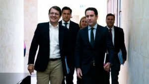 Alfonso Fernández Mañueco y Teodoro García Egea