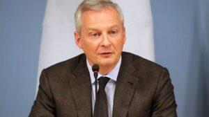 Bruno Le Maire, ministro francés de Finanzas