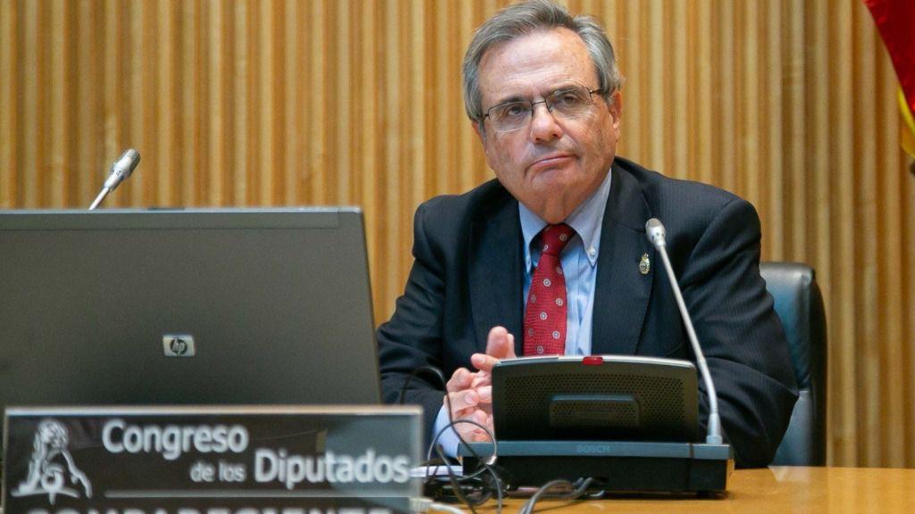El creador de la Organización Nacional de Trasplantes (ONT), Rafael Matesanz Acedos, comparece ante la Comisión para la Reconstrucción Social y Económica.