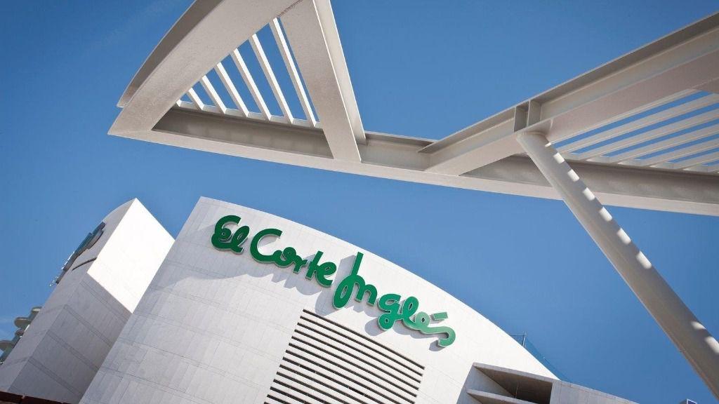 Un centro de El Corte Inglés.