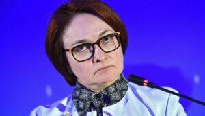 Elvira Nabiullina, presidenta del Banco Central de Rusia