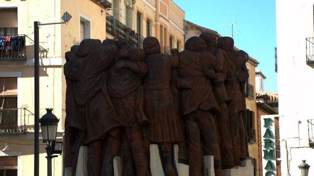 Estatua matanza abogados de Atocha