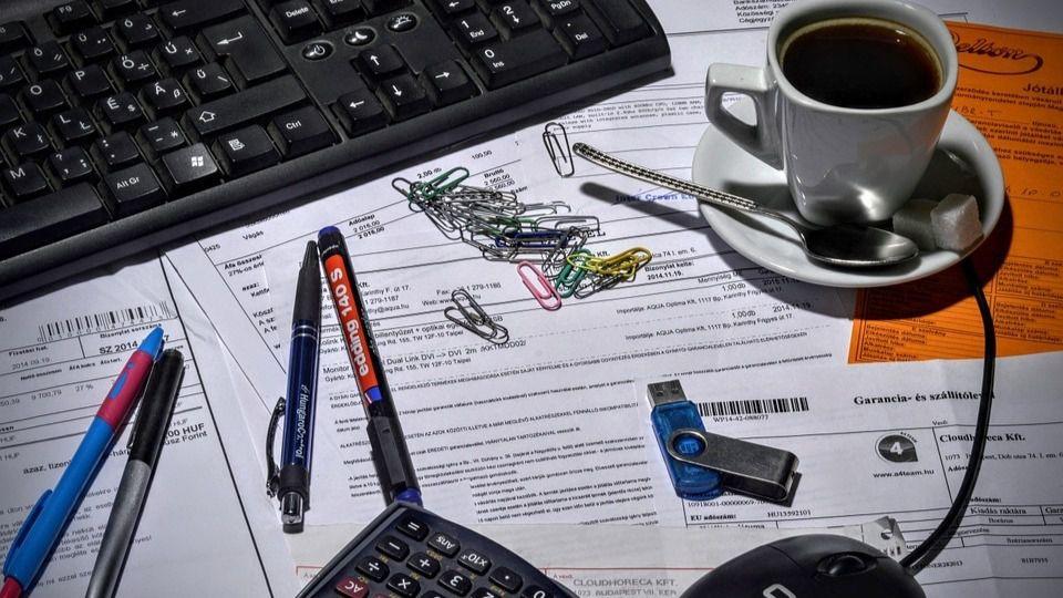 Ordenador Café escritorio