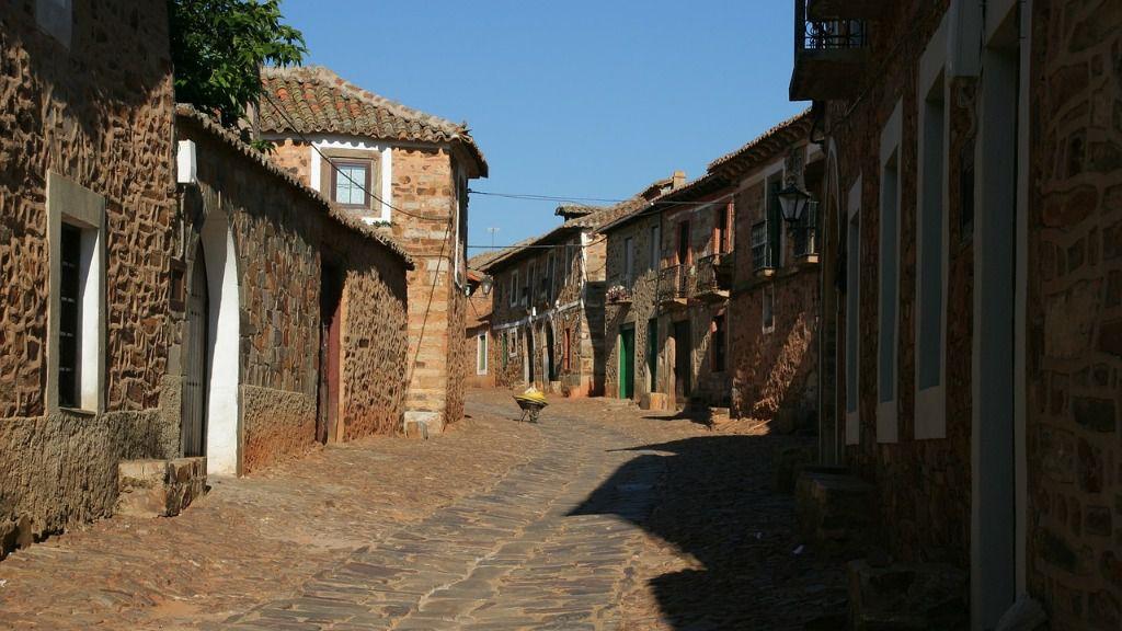 Pueblo españa