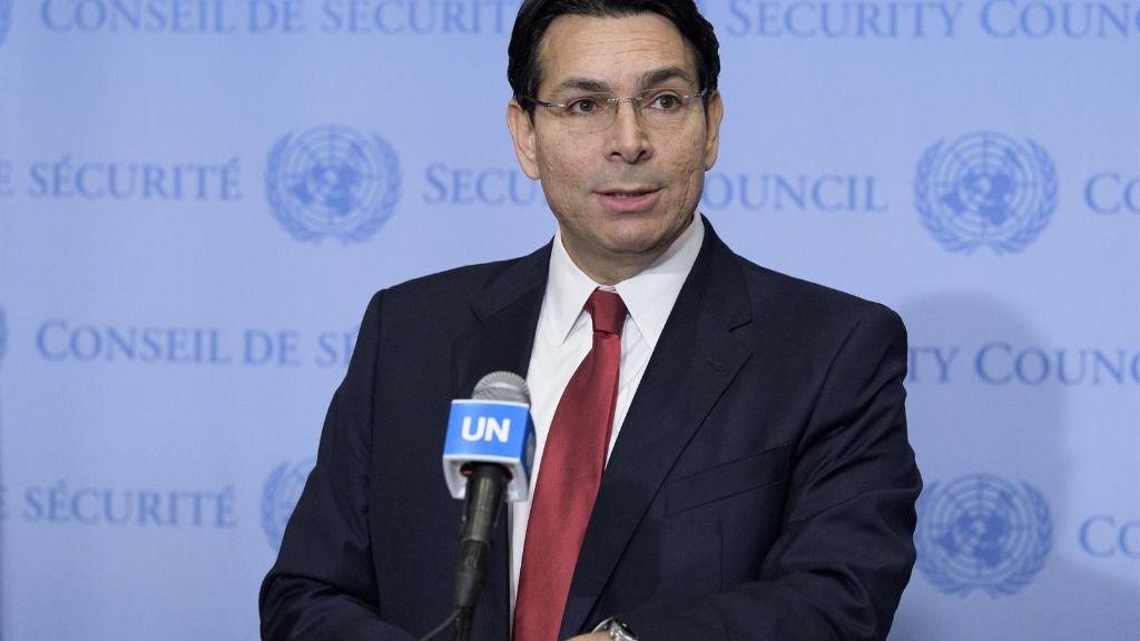 El representante de Israel ante Naciones Unidas, Danny Danon
