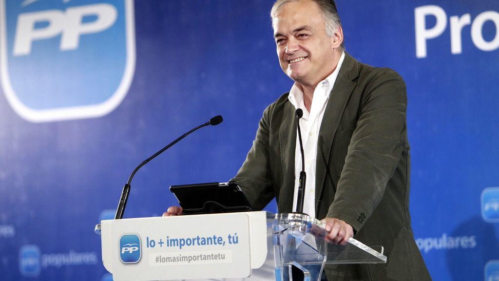 Esteban González Pons, portavoz del PP en el Parlamento Europeo