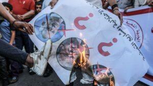 Protestas contra los planes de anexión de Cisjordania