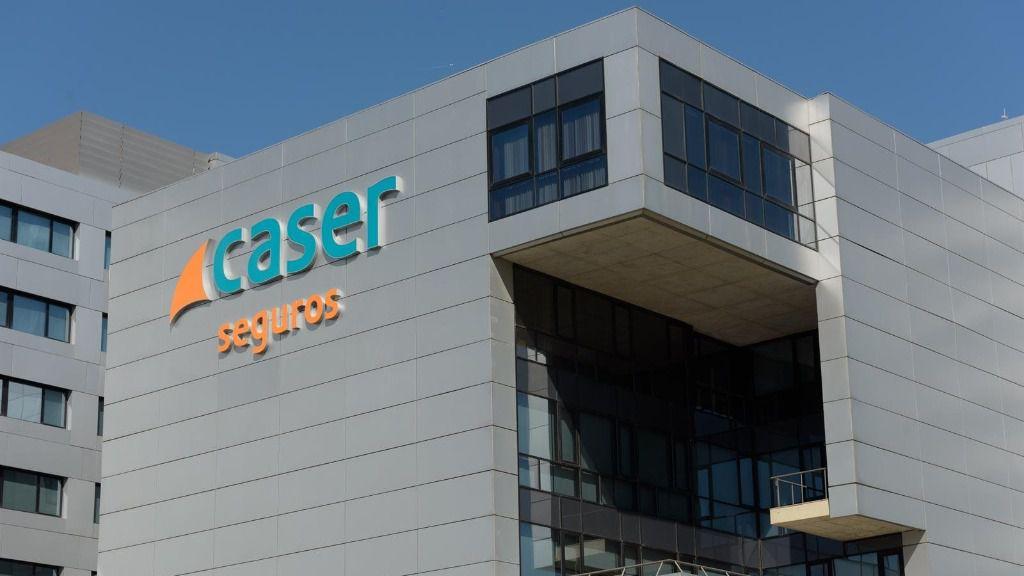 Sede de la compañía se seguros Caser en Madrid