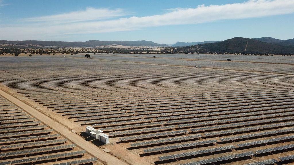 Parque fotovoltaico de Valdecaballeros