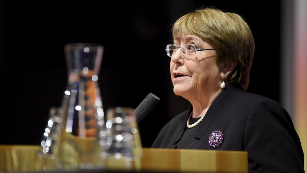 La Alta Comisionada de Naciones Unidas para los Derechos Humanos, Michelle Bachelet