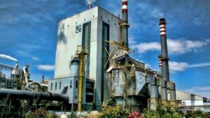 Biofábrica de Ence en Pontevedra