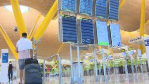 Aeropuerto Adolfo Suárez Madrid-Barajas tras la finalización del estado de alarma