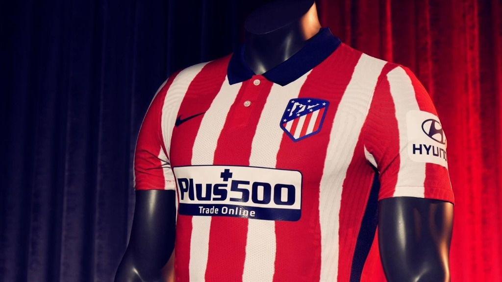 Camiseta del Atlético de Madrid para la temporada 2020-21