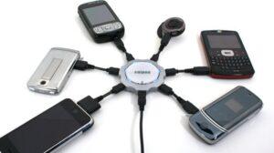 Cargador de móviles