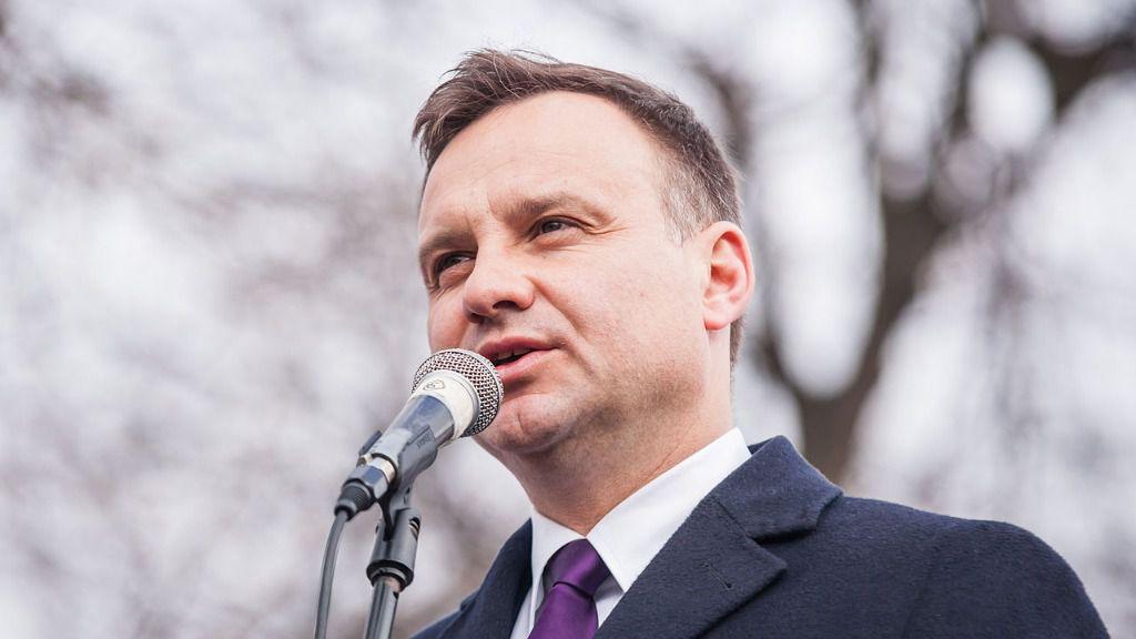 Andrzej Duda, Presidente de la República de Polonia