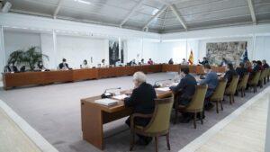 Pedro Sánchez y Consejo de Ministros