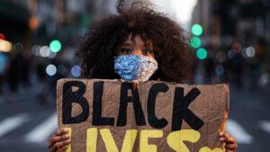 Protestas por la muerte de George Floyd en Nueva York