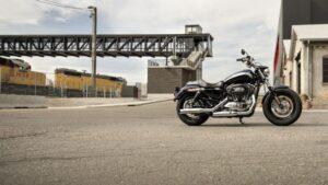 Imagen de una moto de Harley-Davidson.