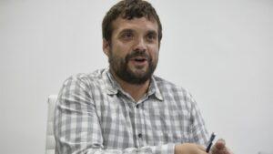 El nuevo secretario general de Podemos Comunidad de Madrid, Jesús Santos