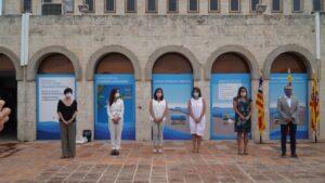 Acto de inauguración de la conexión del cable submarino que une de nuevo energéticamente Menorca y Mallorca