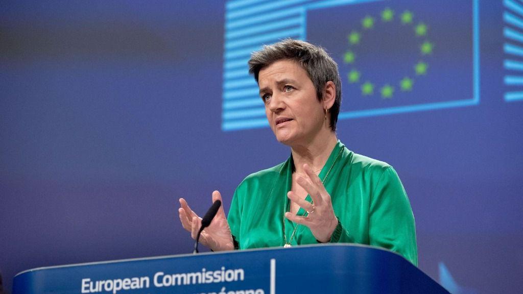 La vicepresidenta ejecutiva y responsable de política de competencia, Margrethe Vestager