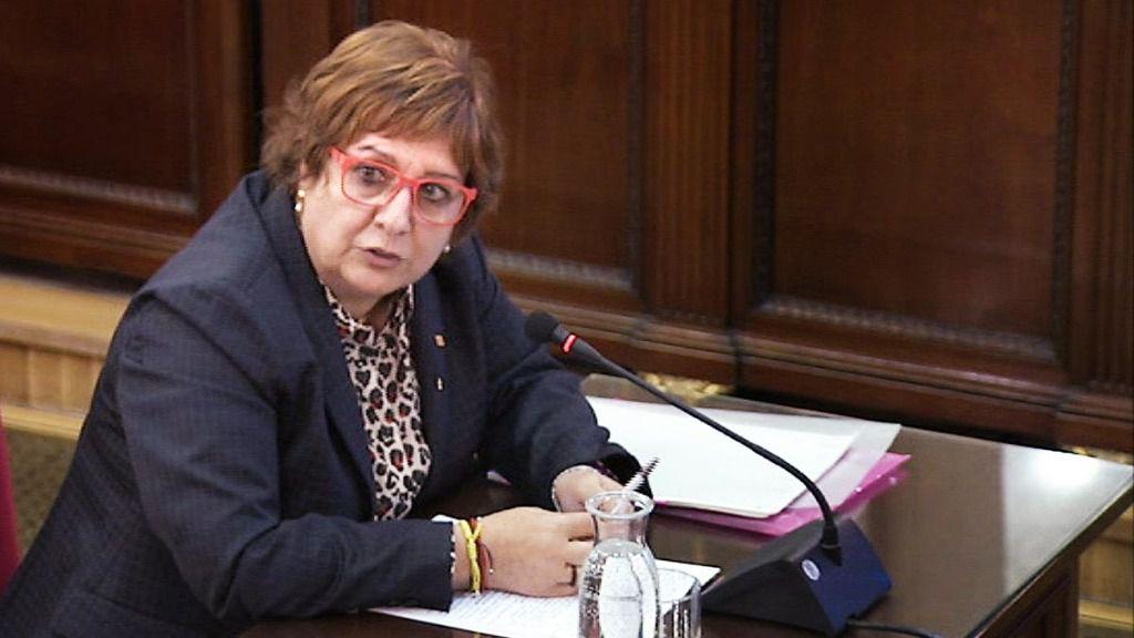 La exconsellera de la Generalitat encarcelada, Dolors Bassa