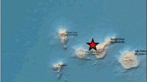 Un terremoto de magnitud 4,1 en Buenavista del Norte (Tenerife) se deja sentir en más de una treintena de localidades