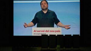 Imagen de Oriol Junqueras en el 28 Congrés Nacinal de ERC