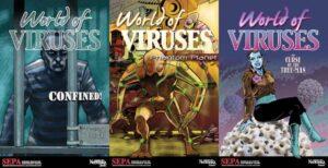 Novelas gráficas del proyecto 'Mundo Virus'