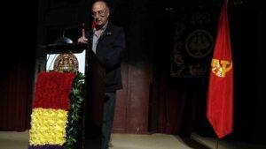 El exsecretario general del Partido Comunista de España (PCE), Francisco Frutos