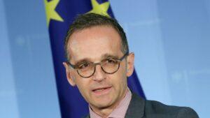 El ministro alemán de Relaciones Exteriores, Heiko Maas