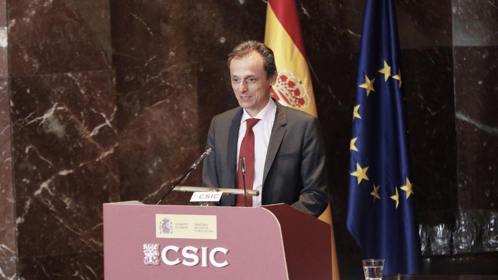 El ministro de Ciencia e Innovación, Pedro Duque, en una imagen de archivo