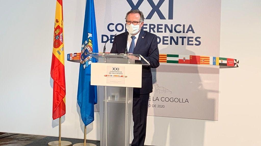 Eduardo de Castro, presidente de la ciudad autónoma de Melilla