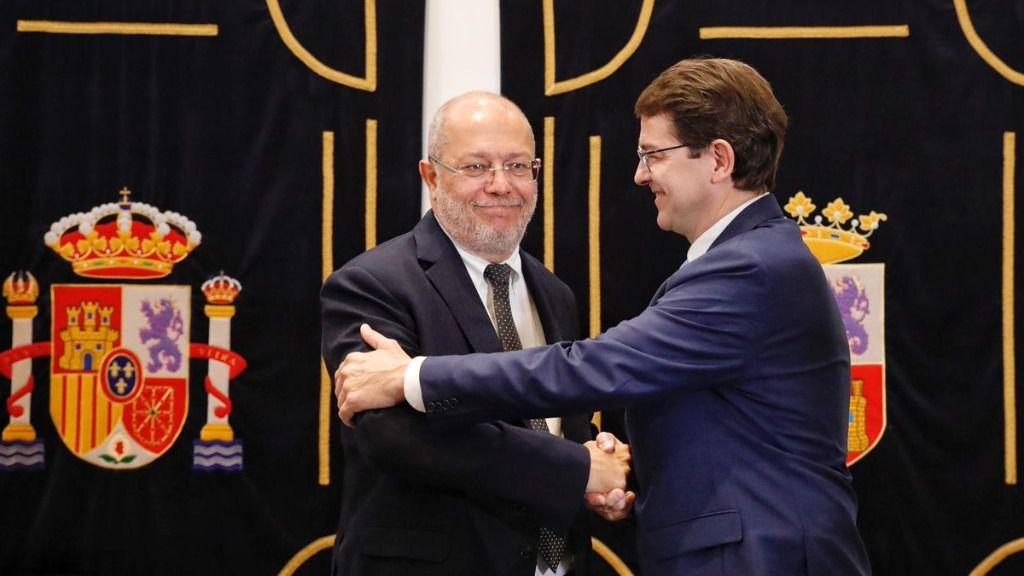 Alfonso Fernández Mañueco y Francisco Igea