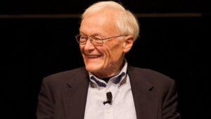 El coinventor del ratón, William English, en 2008