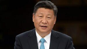 El presidente de China, Xi Jinping, en un acto en Berlín