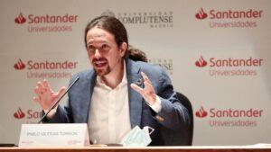 El vicepresidente segundo del Gobierno, ministro de Derechos Sociales y Agenda 2030, Pablo Iglesias.