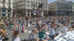 Manifestación Mir
