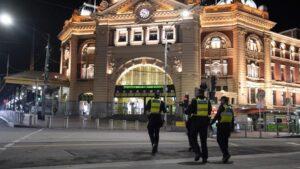 Vigilancia policial en Melbourne