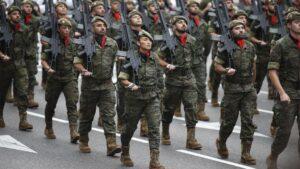 Desfile del 12 de octubre en Madrid