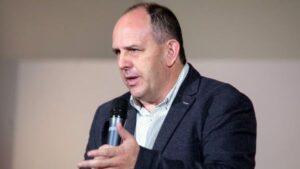 El portavoz de Función Pública del Grupo Socialista, José Luis Aceves
