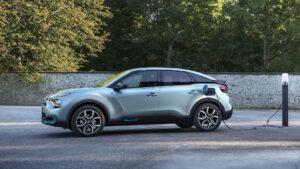 Nuevo C4 eléctrico de Citroën.