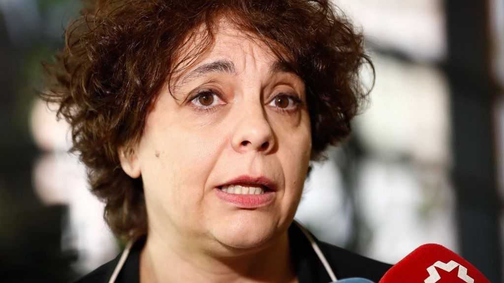 La vicepresidenta tercera del Congreso y exresponsable del equipo legal de Podemos, Gloria Elizo